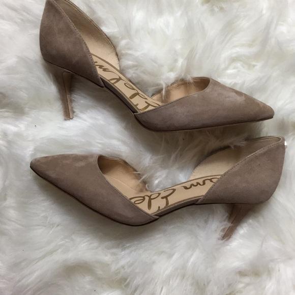 6d6418ea7028 Sam Edelman Telsa D'Orsay heels sz 6 1/2. M_5b69ed565bbb80b1a5d82ad1